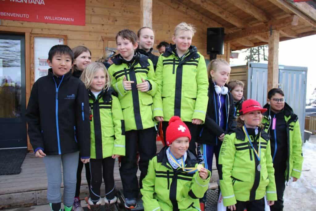 Groupe de l'Académie des courses de ski